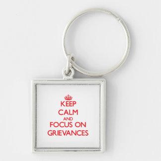 Behalten Sie Ruhe und Fokus auf Beschwerden