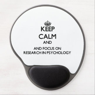 Behalten Sie Ruhe und Fokus auf Forschung in der Gel Mousepad