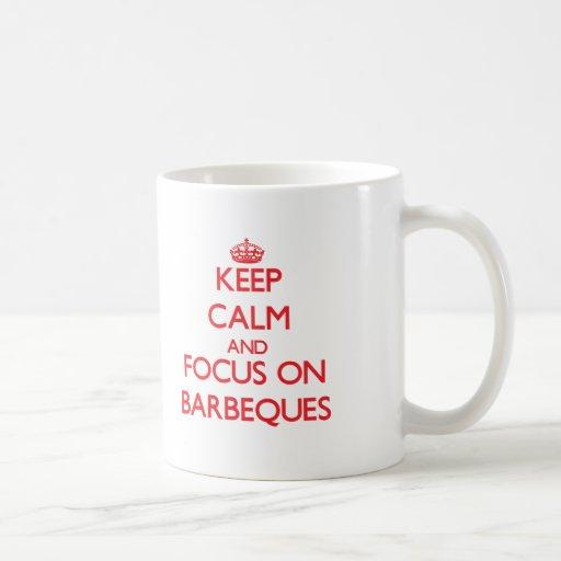 Behalten Sie Ruhe und Fokus auf Grills Tee Haferl