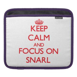 Behalten Sie Ruhe und Fokus auf Knäuel Sleeve Für iPads