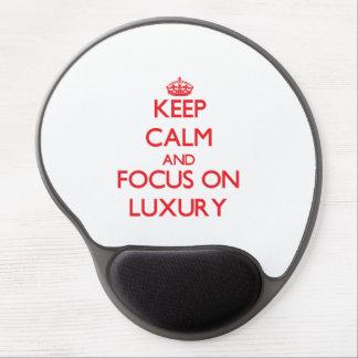 Behalten Sie Ruhe und Fokus auf Luxus