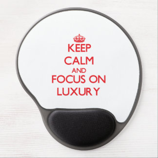 Behalten Sie Ruhe und Fokus auf Luxus Gel Mouse Matte