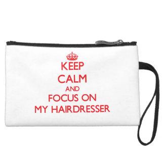 Behalten Sie Ruhe und Fokus auf meinem Friseur