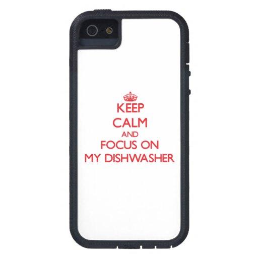 Behalten Sie Ruhe und Fokus auf meiner iPhone 5 Schutzhülle