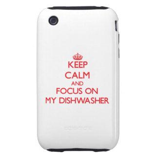 Behalten Sie Ruhe und Fokus auf meiner iPhone 3 Tough Hülle