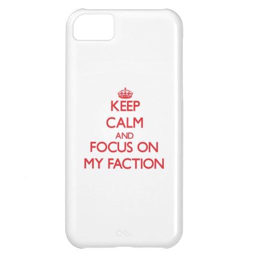 Behalten Sie Ruhe und Fokus auf meiner Partei Hüllen Für iPhone 5C