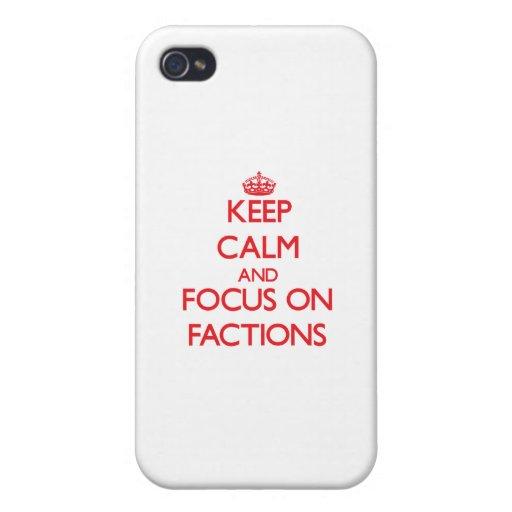 Behalten Sie Ruhe und Fokus auf Parteien iPhone 4/4S Hülle