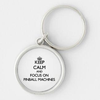 Behalten Sie Ruhe und Fokus auf Schlüsselband
