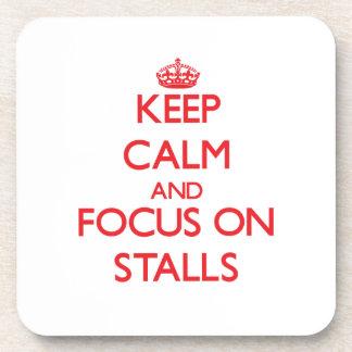 Behalten Sie Ruhe und Fokus auf Ställen