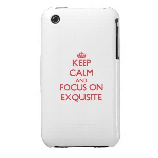 Behalten Sie Ruhe und Fokus auf VORZÜGLICHEM iPhone 3 Case-Mate Hülle