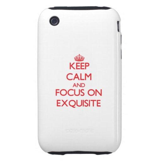 Behalten Sie Ruhe und Fokus auf VORZÜGLICHEM iPhone 3 Tough Hüllen
