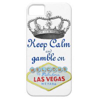Behalten Sie Ruhe und Glücksspiel an Schutzhülle Fürs iPhone 5