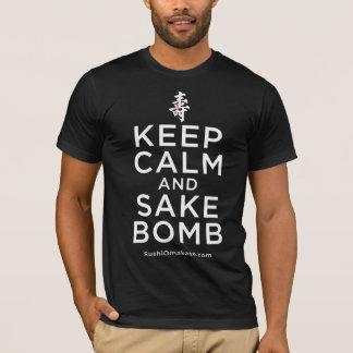 Behalten Sie Ruhe-und Grund-Bomben-Shirt T-Shirt