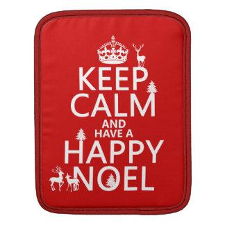 Behalten Sie Ruhe und haben Sie ein glückliches iPad Sleeve
