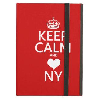 Behalten Sie Ruhe und Herz New York