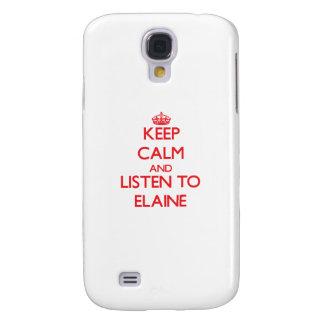 Behalten Sie Ruhe und hören Sie auf Elaine Galaxy S4 Hülle