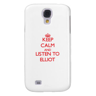 Behalten Sie Ruhe und hören Sie auf Eliot Galaxy S4 Hülle
