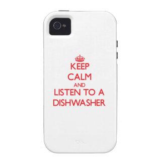 Behalten Sie Ruhe und hören Sie zu einer iPhone 4 Hüllen