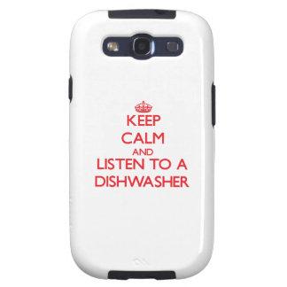 Behalten Sie Ruhe und hören Sie zu einer Samsung Galaxy S3 Etui