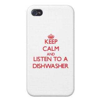 Behalten Sie Ruhe und hören Sie zu einer iPhone 4/4S Hüllen