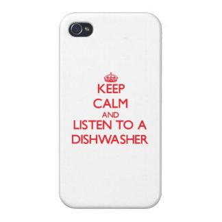 Behalten Sie Ruhe und hören Sie zu einer iPhone 4/4S Case
