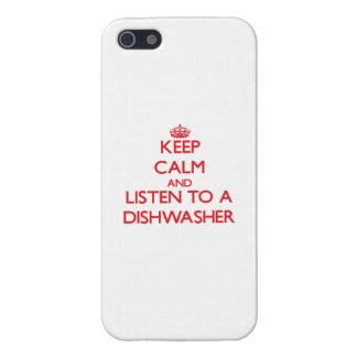 Behalten Sie Ruhe und hören Sie zu einer iPhone 5 Schutzhüllen