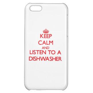 Behalten Sie Ruhe und hören Sie zu einer iPhone 5C Schale