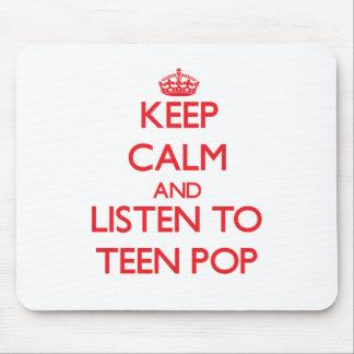 Behalten Sie Ruhe und hören Sie zum JUGENDLICH POP