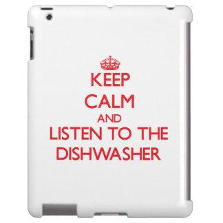 Behalten Sie Ruhe und hören Sie zur Spülmaschine