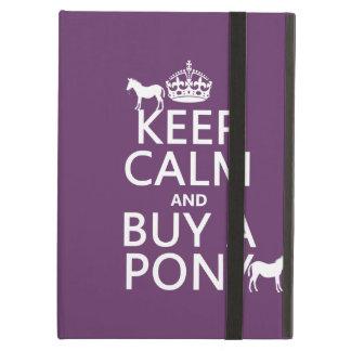 Behalten Sie Ruhe und kaufen Sie ein Pony - alle