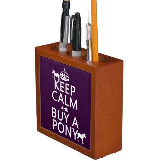Behalten Sie Ruhe und kaufen Sie ein Pony - alle Stifthalter