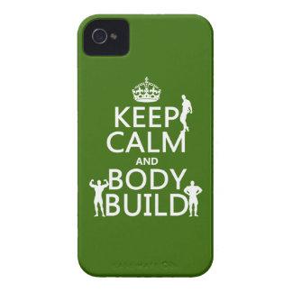 Behalten Sie Ruhe-und Körper-Gestalt (fertigen Sie Case-Mate iPhone 4 Hüllen