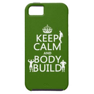 Behalten Sie Ruhe-und Körper-Gestalt (fertigen Sie iPhone 5 Hülle