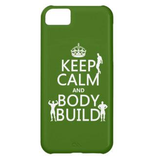 Behalten Sie Ruhe-und Körper-Gestalt (fertigen Sie iPhone 5C Hülle