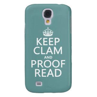 Behalten Sie Ruhe und lesen Sie Korrektur Galaxy S4 Hülle