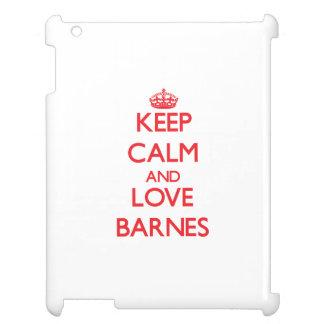 Behalten Sie Ruhe und Liebe Barnes Hüllen Für iPad