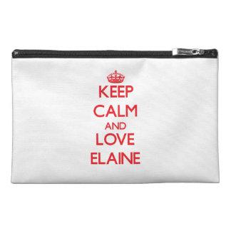 Behalten Sie Ruhe und Liebe Elaine