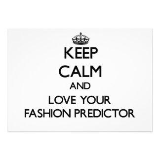 Behalten Sie Ruhe und Liebe Ihr Mode-Kommandogerät Ankündigung