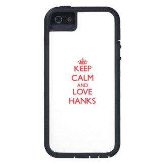 Behalten Sie Ruhe und Liebe Knäuel iPhone 5 Case