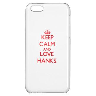 Behalten Sie Ruhe und Liebe Knäuel iPhone 5C Hüllen