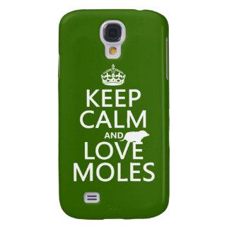 Behalten Sie Ruhe-und Liebe-Molen (irgendeine Galaxy S4 Hülle