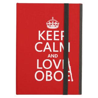 Behalten Sie Ruhe und Liebe Oboe (irgendeine