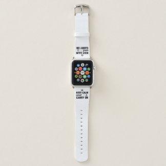 Behalten Sie Ruhe und machen Sie für Radfahrer Apple Watch Armband
