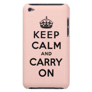 behalten Sie Ruhe und machen Sie Vorlage weiter Case-Mate iPod Touch Case