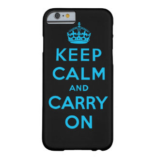 behalten Sie Ruhe und machen Sie weiter Barely There iPhone 6 Hülle