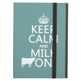 Behalten Sie Ruhe und Milch auf (Kühe) (in allen