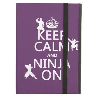 Behalten Sie Ruhe und Ninja auf (in irgendeiner