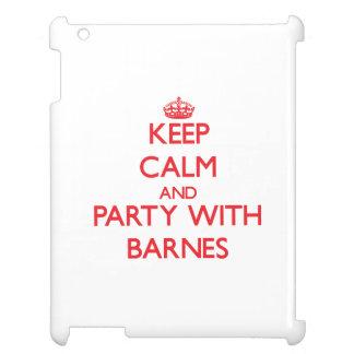 Behalten Sie Ruhe und Party mit Barnes Hüllen Für iPad
