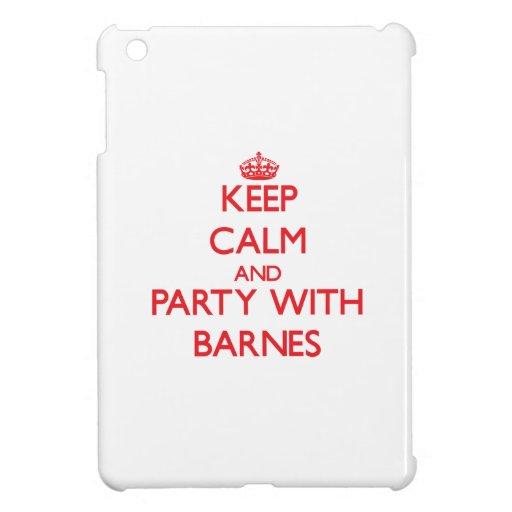 Behalten Sie Ruhe und Party mit Barnes iPad Mini Schale