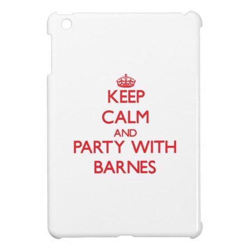 Behalten Sie Ruhe und Party mit Barnes Hülle Für iPad Mini